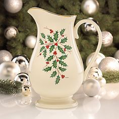 Holiday� Pitcher by Lenox