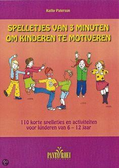 bol.com | Spelletjes van 3 minuten om kinderen te motiveren, K. Paterson | Boeken...