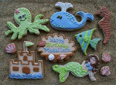 octopus cookies | octopus