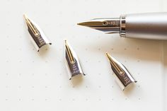 New fountain pen nibs from LAMY: 14kt Gold. Pin for later.