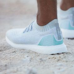 adidas  Parley for the Ocean Hits the Market: UltraBOOST Uncaged Parley sneakers and just announced soccer jerseys all from ocean plastic