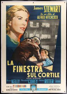 MovieArt Original Film Posters - REAR WINDOW (1954) 25298, $3,900.00 (http://www.movieart.com/rear-window-1954-25298/)