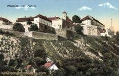 Munkatsch (Munkács - Mukatschewe), Festung Die Habsburger, Kaiser Wilhelm, Mansions, House Styles, District Court, Birthing Center, Forts, Hungary, German