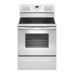 Whirlpool 5.3 cu. ft. Electric Range with Self-Cleaning Oven in White - WFE515S0EW - The Home Depot