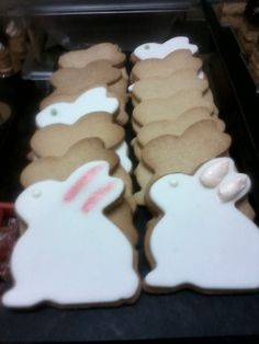 easter shortbread and fondant cookies
