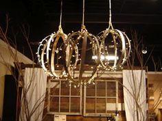 Wine Barrel Strap Sparkling Spheres...LOVELY!