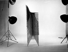 Charles & Ray Eames_Fiberglass-reinforced Plastic Chairs, 1954_USA