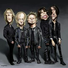 Aerosmith #caricature