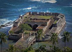 Castillo San Jeronimo, Condado, Puerto Rico