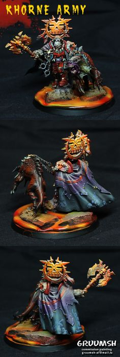 Age of Sigmar | Khorne Bloodbound | Mighty Lord of Khorne #warhammer…