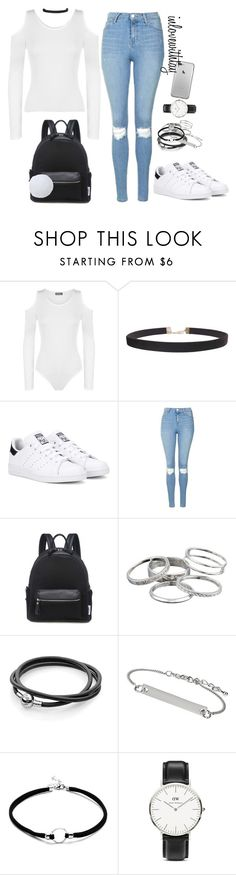 """""""23❤"""" by inlovewithtay ❤ liked on Polyvore featuring WearAll, Humble Chic, adidas Originals, Topshop, Kendra Scott and Daniel Wellington"""