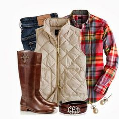 Nice winter outfit.