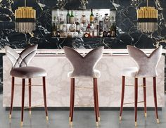 10 Designer Bar Stools Trending Right Now | Counter and Bar Stools