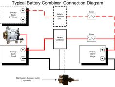 Battery Combiner Wiring Diagram from i.pinimg.com