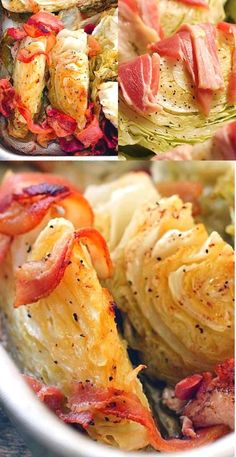 The bacon adds flavor while the browned butter adds it's own unique taste. It's absolutely delicious! This is a baked cabbage recipe your whole family will love.