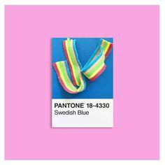PANTONE Swedish Blue