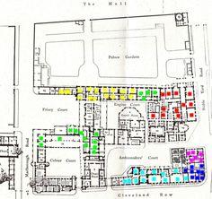 St. James Palace Floor Plan | St James's Palace, floor plan