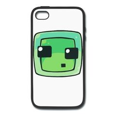 Minecraft Slime iPhone 4/4S Rubber Case iPhone 4/4S Rubber Case | Spreadshirt | ID: 13296971