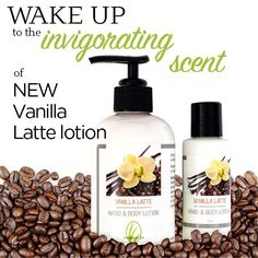 This Vanilla Latte lotion smells like your favorite coffee drink. Moisturizing formula with aloe, almond oil, shea butter and apricot kernel oil to soften and heal dry skin. This versatile lotion formula can be used every day all over your body! Skin absorbs this lotion quickly for a non-greasy finish. http://www.ourlemongrassspa.com/2978/shop/productdetail.aspx?prod=L6013