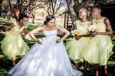 Bride and bridesmaids Girls Dresses, Flower Girl Dresses, Brides And Bridesmaids, Wedding Photography, Weddings, Wedding Dresses, Fashion, Wedding Shot, Moda