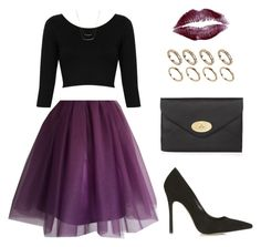 """Untitled #1427"" by susannem ❤ liked on Polyvore featuring Topshop, Mulberry, ALDO and DailyLook"