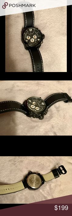 Invicta Men's 50MM Corduba Mickey Mouse Watch Invicta Disney 50MM Corduba Mickey Mouse Limited Edition Watch Model 22757. Excellent used condition, Like New. Water Resistant 200M. Luxury: Sport Style. Genuine Leather Band. Japan TMI VR32 Quartz Movement. Very nice!! Invicta Accessories Watches