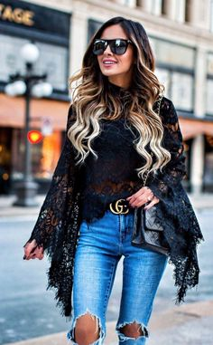Casual Spring Outfits: The Best Street Style Ideas Cool Street Fashion, Cute Fashion, Fashion Outfits, Womens Fashion, Fashion Trends, Street Style, Fashion Bloggers, Top Jean, Look 2017