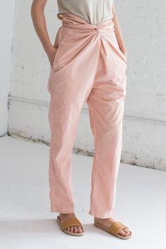 Cosmic Wonder Wrapped Pants in Pink | Oroboro Store | Brooklyn, New York