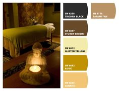 Massage studio colors for quality ambiance and experience