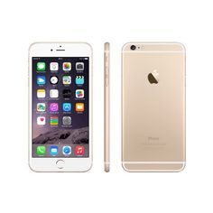 """Apple iPhone 6 64GB Unlocked 5.7"""" WiFi Cell Phone GSM iOS Smartphone Refurbished Gold"""