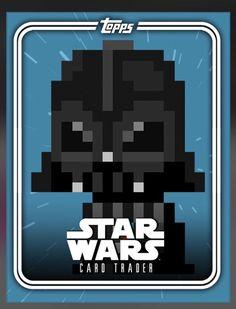 Star Wars Trader 8 Bit Pack Art Pack Journey S2 Darth Vader Level 1 | eBay