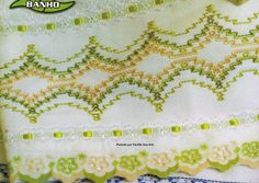 Facilite Sua Arte: Vagonite 8 - Barrado para toalha                                                                                                                                                      Mais