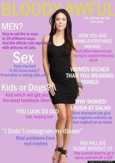 Every women's magazine.