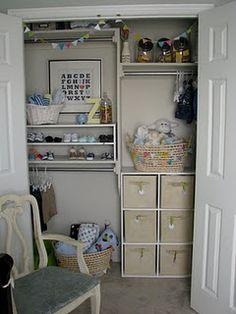 Beautiful Baby Closet