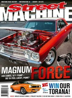 Street Machine Magazine March 2016 digital magazine - Read the digital edition by Magzter on your iPad, iPhone, Android, Tablet Devices, Windows 8, PC, Mac and the Web.