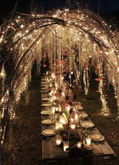 A Midsummer Night's Dream Wedding Theme - Kim & Karen