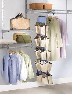 Rubbermaid Configurations Shoe Organizer, 20-Pocket, Natural @ Amazon.com –$17