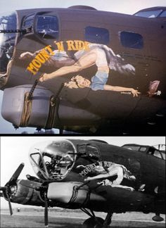 Perverted art over skies of Photos) Army Humor, Pin Up Girl Vintage, Art Deco Paintings, Estilo Pin Up, Airplane Art, Aviation Art, Aviation Humor, Pin Up Photography, Military Art