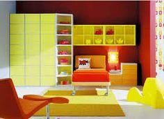 modern room for kids