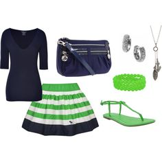Blue & Green Nautical Inspired.