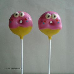 moshi monster cake pops http://flickrhivemind.net/Tags/monsters,moshi/Interesting