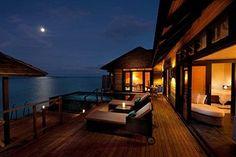 Realistic: $255/night 96% guest recommended. Hilton Maldives / Iru Fushi Resort & Spa (Iru Fushi, Maldives)   Expedia