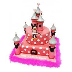 minnie mouse castle cake - Google Search