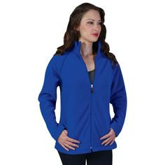 Show details for Ladies Classic Microfibre Polar Fleece Casual Wear Women, Polar Fleece, Snug, Stylish, Lady, Classic, Jackets, How To Wear, Zipper