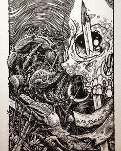 Michaels Arts And Crafts Coupon Michael Art, Heavy Metal Rock, Skull Artwork, Skate Art, Creepy Art, Detailed Drawings, Skateboard Art, Detail Art, Horror Art