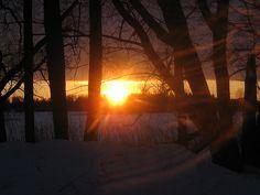Lohja at winter. Photo by Petra