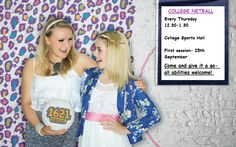 Don't forget, first @AylesburyColl  netball session today 12.30-1.30 in the sports hall! pic.twitter.com/ttPYCjZjrl