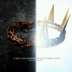 He is now alive and King!<3