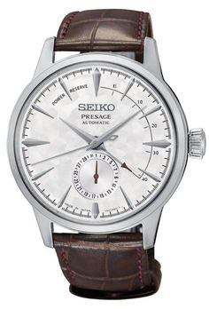 Seiko Watch Presage Cocktail Automatic Pre-Order #add-content #bezel-fixed #bracelet-strap-leather #brand-seiko-presage #case-depth-14-4mm #case-material-steel #case-width-40-5mm #classic #date-yes #delivery-timescale-call-us #dial-colour-white #discount-code-allow #gender-mens #limited-edition-yes #movement-automatic #new-product-yes #official-stockist-for-seiko-presage-watches #packaging-seiko-presage-watch-packaging #power-reserve-yes #pre-order #pre-order-date-30-12-2017