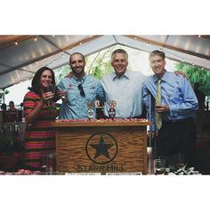 We had a great time last week celebrating Virginia Craft Beer Month with @GovernorTerryMcAuliffe & Todd Haymore @VAAGforestry! It was an honor to be invited to pour beer at the Craft Beer Reception at the Executive Mansion. The Governor sure likes his Whiter Shade! #tbt #vacraftbeer #vacraftbeermonth #WhiterShade #StarrHill by starrhillbrewery